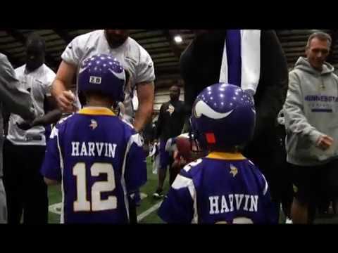 Minnesota Vikings grant wishes for kids