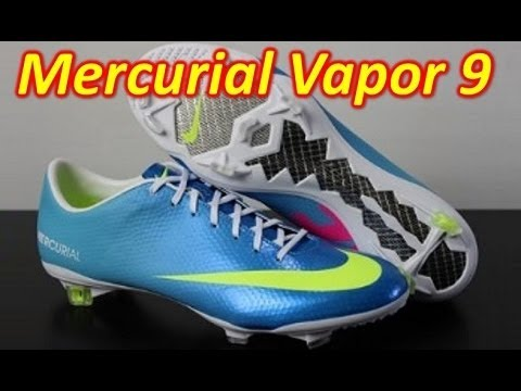 cheap for discount e732c 06e5f Nike Mercurial Vapor 9 IX Neptune Blue - Unboxing + On Feet - YouTube
