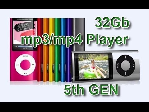 Посылки из Китая- 32Gb MP4/MP3 Music Player 2.2 inchTFT