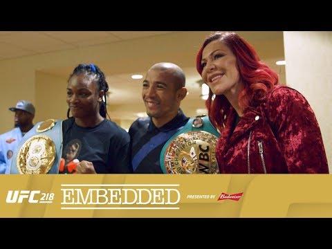 UFC 218 Embedded: Vlog Series - Episode 5