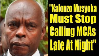 Has Kivutha Kibwana Elbowed Kalonzo Out Of Presidential Race?