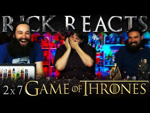 "RICK REACTS: Game of Thrones 2x7 REACTION ""A Man Without Honor"""