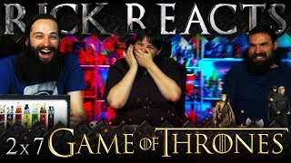 """RICK REACTS: Game of Thrones 2x7 REACTION """"A Man Without Honor"""""""