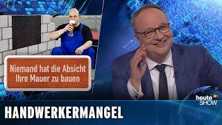 Handwerker – die begehrtesten Männer Deutschlands (Martin Klempnow) | heute-show vom 17.05.2019