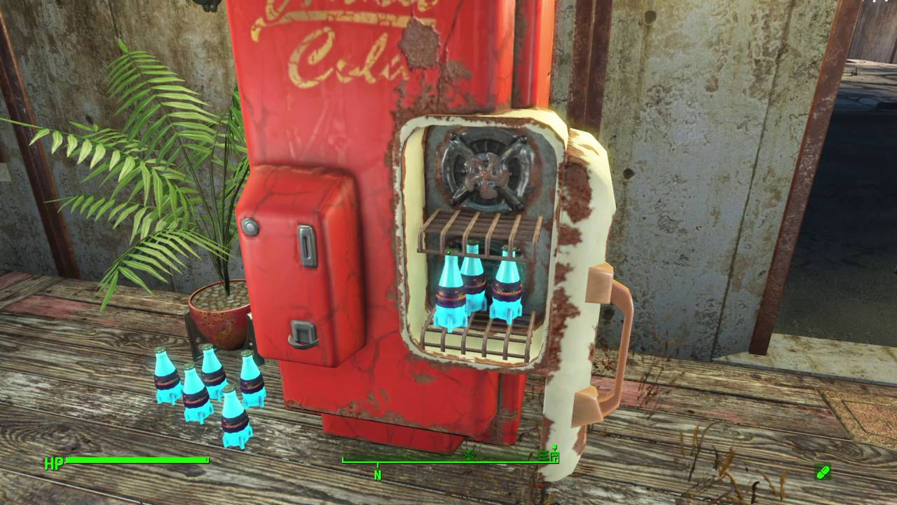 fallout 4 how to fill nuka cola machine 8 bottles no mods ps4