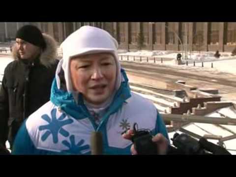 Тимур Кулибаев-Огонь Азиады.Астана 2011