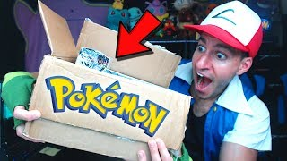 YOU WON'T BELIEVE THIS! POKEMON SENT ME A MYSTERY BOX WITH CARDS!