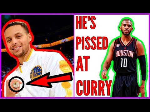 Why the Warriors will NEVER WIN another RING! CHRIS PAUL OWNS STEPH CURRY!