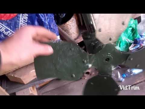 Самодельный#Ручной#мотор#для лодки#подвесной транец#жим!