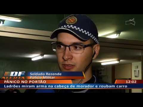 DF ALERTA -   Rapaz sai de casa sem celular e acaba ameaçado em roubo