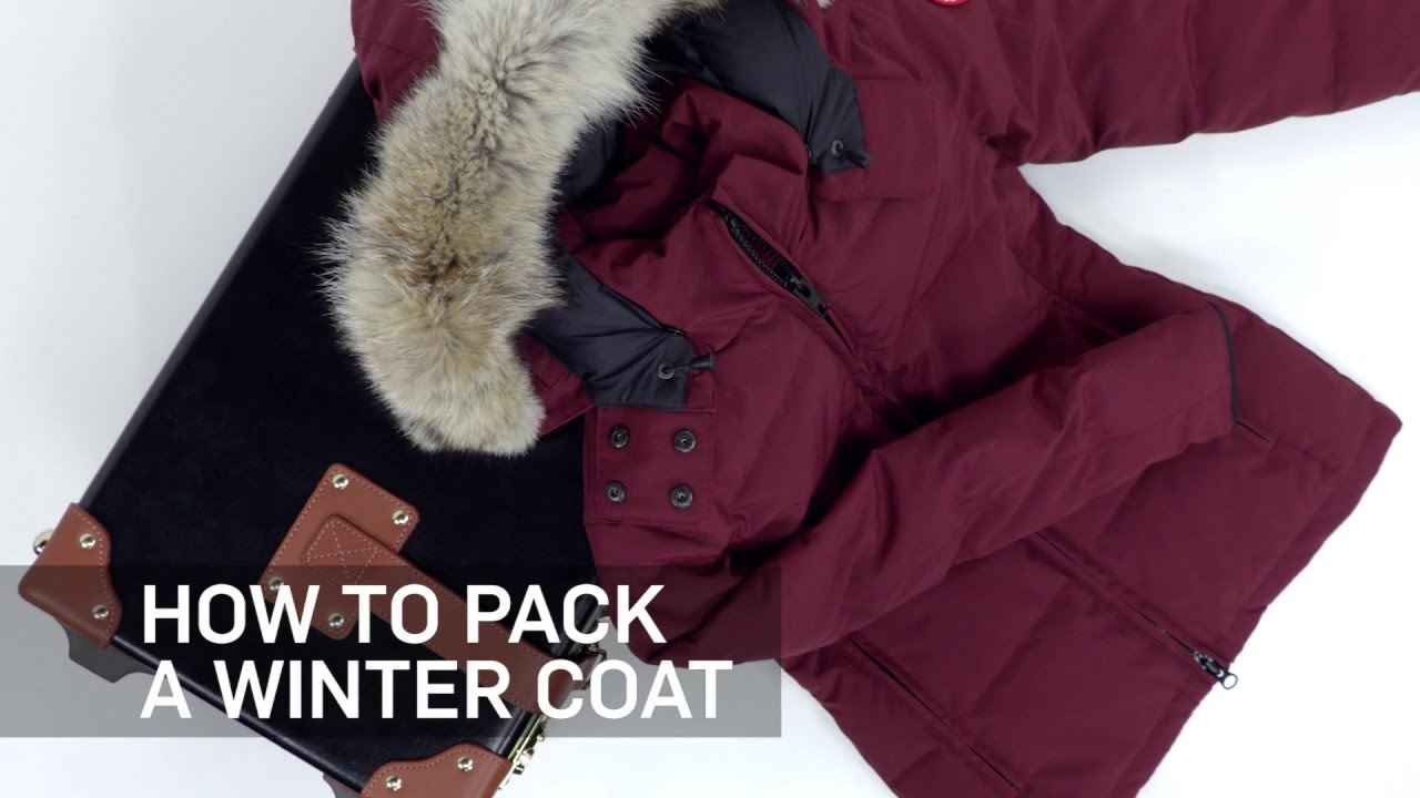 ff7b2aa7521 How to Pack a Winter Coat   Travel + Leisure - YouTube
