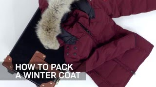 How to Pack a Winter Coat | Travel + Leisure