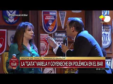 La Gata Varela y el Polaco Goyeneche en Polémica