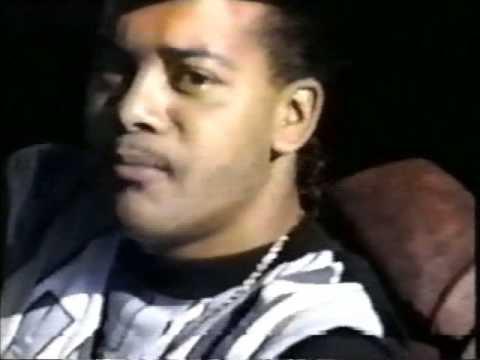 Suga Free aka Royal Rock - 1st Home Music Video 1992