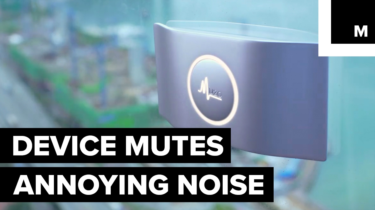 Noise canceling device youtube Noise cancelling system for bedroom