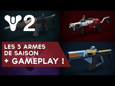 Destiny 2 FR : les 3 armes de Saison + extraits de Gameplay ! thumbnail
