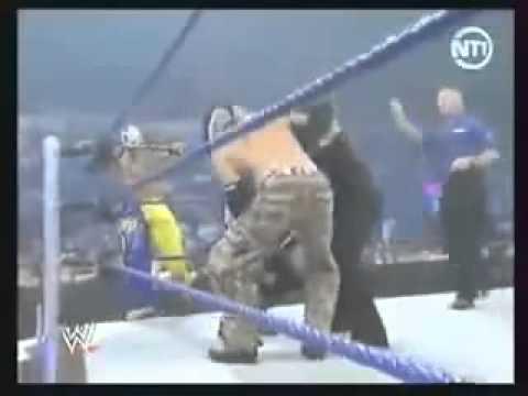 Rey mysterio , Jeff Hardy & Matt Hardy vs MvP , MaRk Henry & Kane wmv