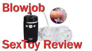 Need Oral Suction? - Blowjob Masturbator Review -  Like a Penis Pump