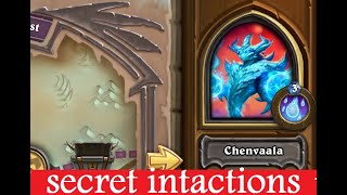 Galakrond's Awakening Chenvaala boss secret and hidden interactions