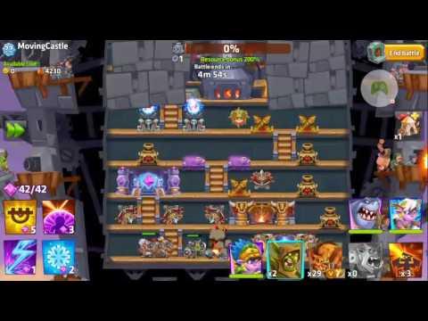 Monster Castle Doom Strategy. Priestess, Drummer, Chomp