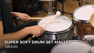 MEINL Stick & Brush Super Soft Drum Set Mallet SB400