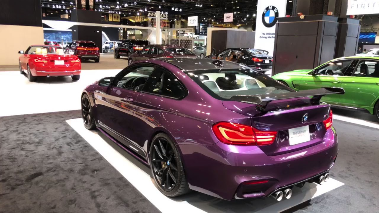 Bmw M4 In Purple Silk Youtube