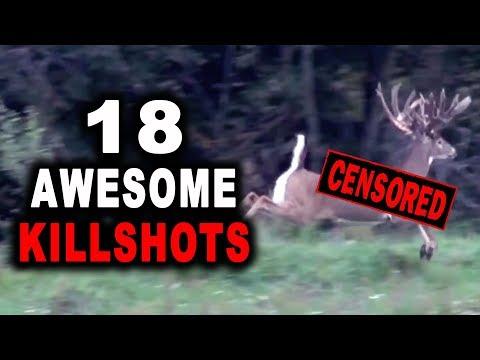 KILLSHOT MONTAGE 2   Giant Whitetail Bucks   WARNING: GRAPHIC