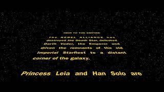 Star Wars: Heir to the Empire - Opening Crawl