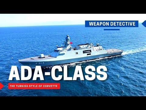 Ada-class, the Turkish style of corvette