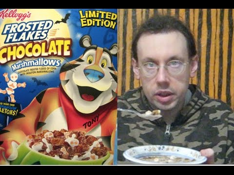 Halloween Frosted Flakes with Chocolate & Marshmallows Review