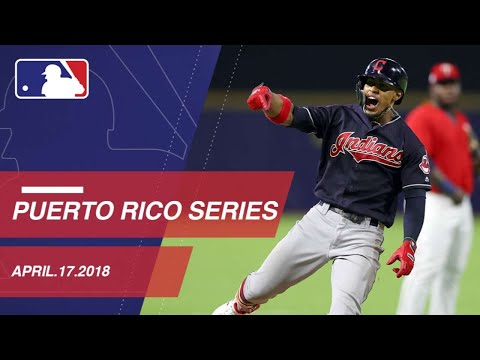 Lindor goes deep in first game of Puerto Rico series