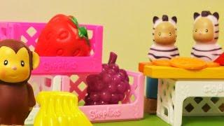 çocuk oyunları. Oyuncak hayvanlar ve market oyunları! Eğitici çocuk filmi!