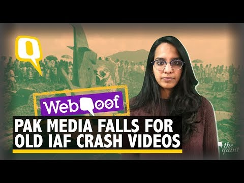 Pak Media Falls for Old Videos, Photos Amid Stand-off With India   The Quint