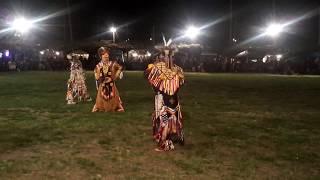 TAOS PUEBLO POW WOW 2019 DAY 2  EVENING- Men's Chicken Dance - 2