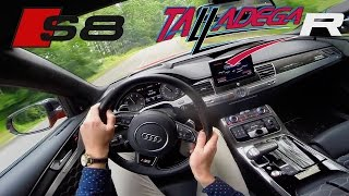 Audi S8 MTM 802 HP Talladega R POV Acceleration Sound Drive by AutoTopNL
