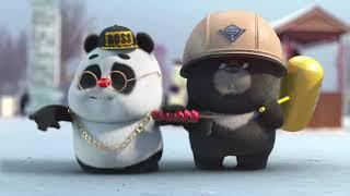 【Bamboo Panda ❤️】100K Followers Celebration   Chinese Short Animation   熊猫班卜 #panda #cute