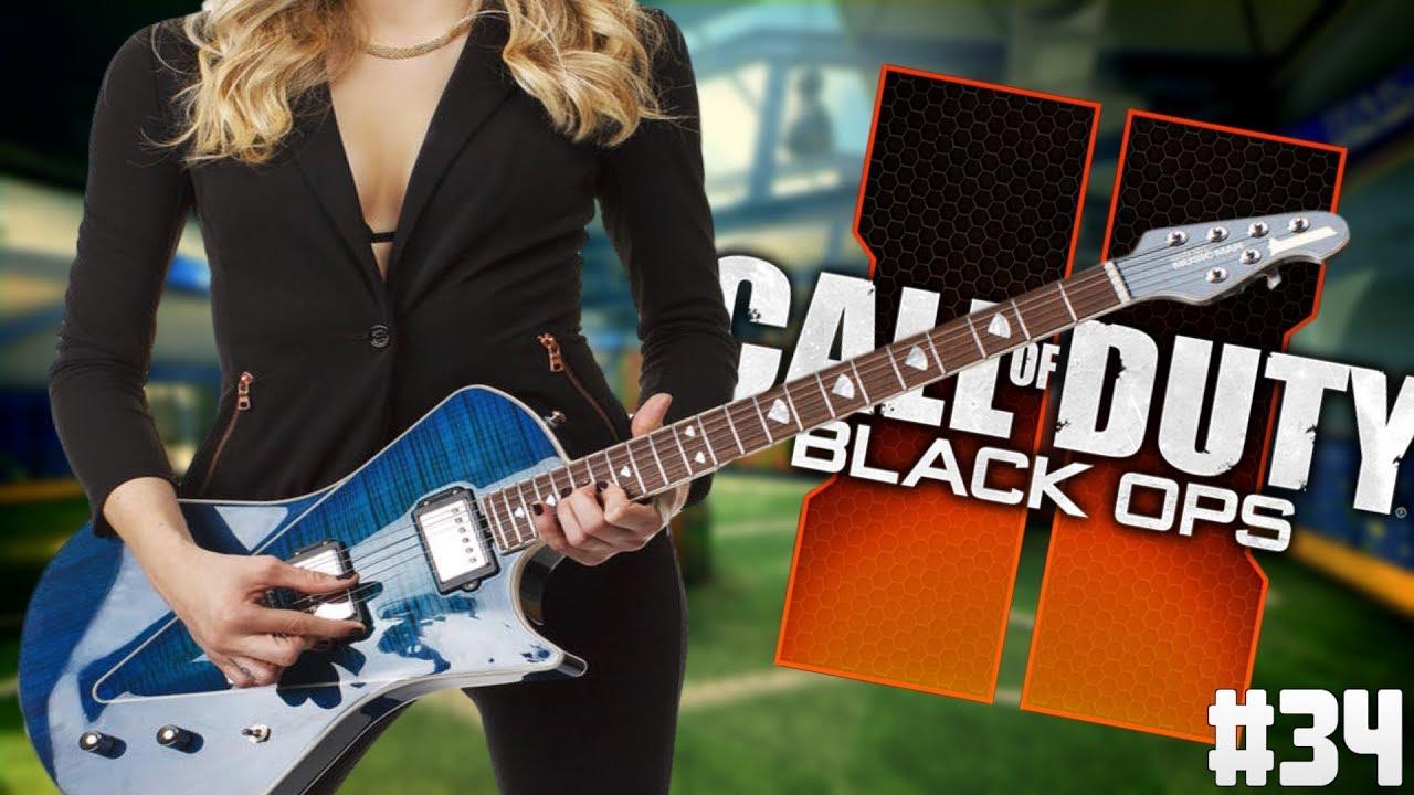 Playing Guitar on Black Ops 2 Ep. 34 - Return of Female Dooo