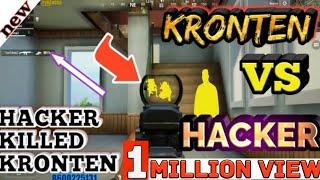 HACKER KILLED KRONTEN || KRONTEN VS HACKER  || KRONTEN KILLED BY HACKER | HACKER IN PUBG MOBILE