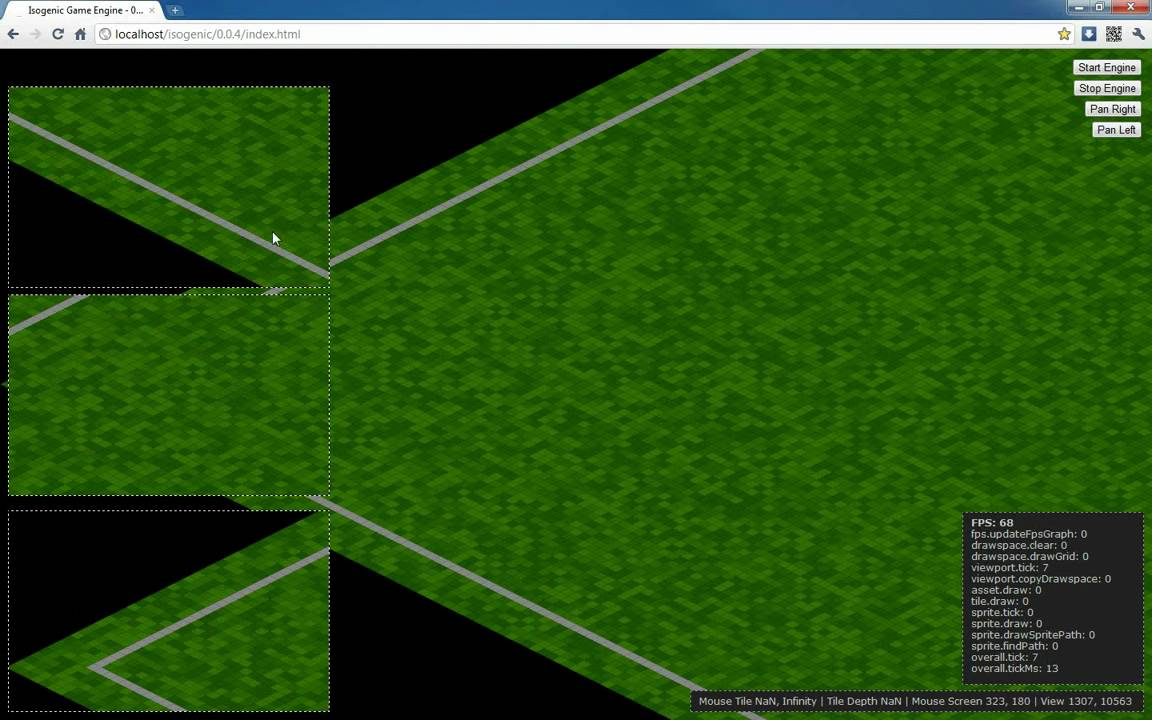 Isogenic Engine Html5 Canvas 4 Million Tiles On A Map In Javascript Advanced Paging Algorithm