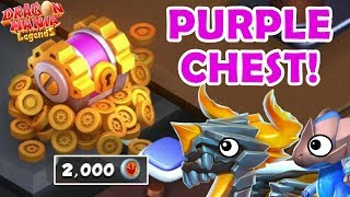 """WHAT'S IN THE PURPLE CHEST?! """"Finishing"""" The BOTTOMLESS DUNGEON! - DML #1213"""