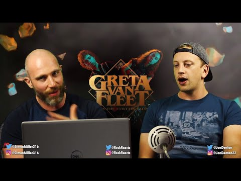 THE NEW LED ZEPPELIN? | Greta Van Fleet - When The Curtain Falls REACTION!!!