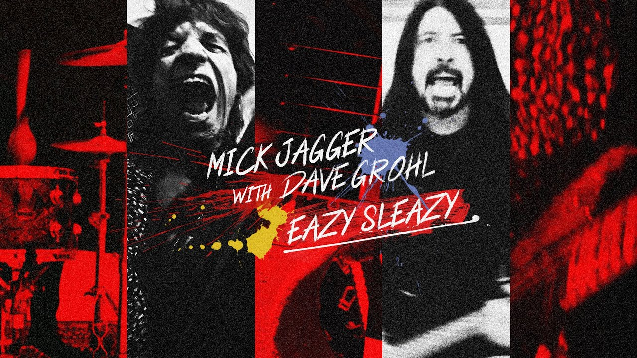 VIDEOCLIP: Mick Jagger & Dave Grohl - Eazy Sleazy