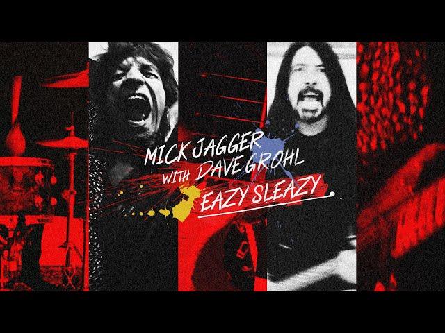 Новая песня Mick Jagger и Dave Grohl «Eazy Sleazy»