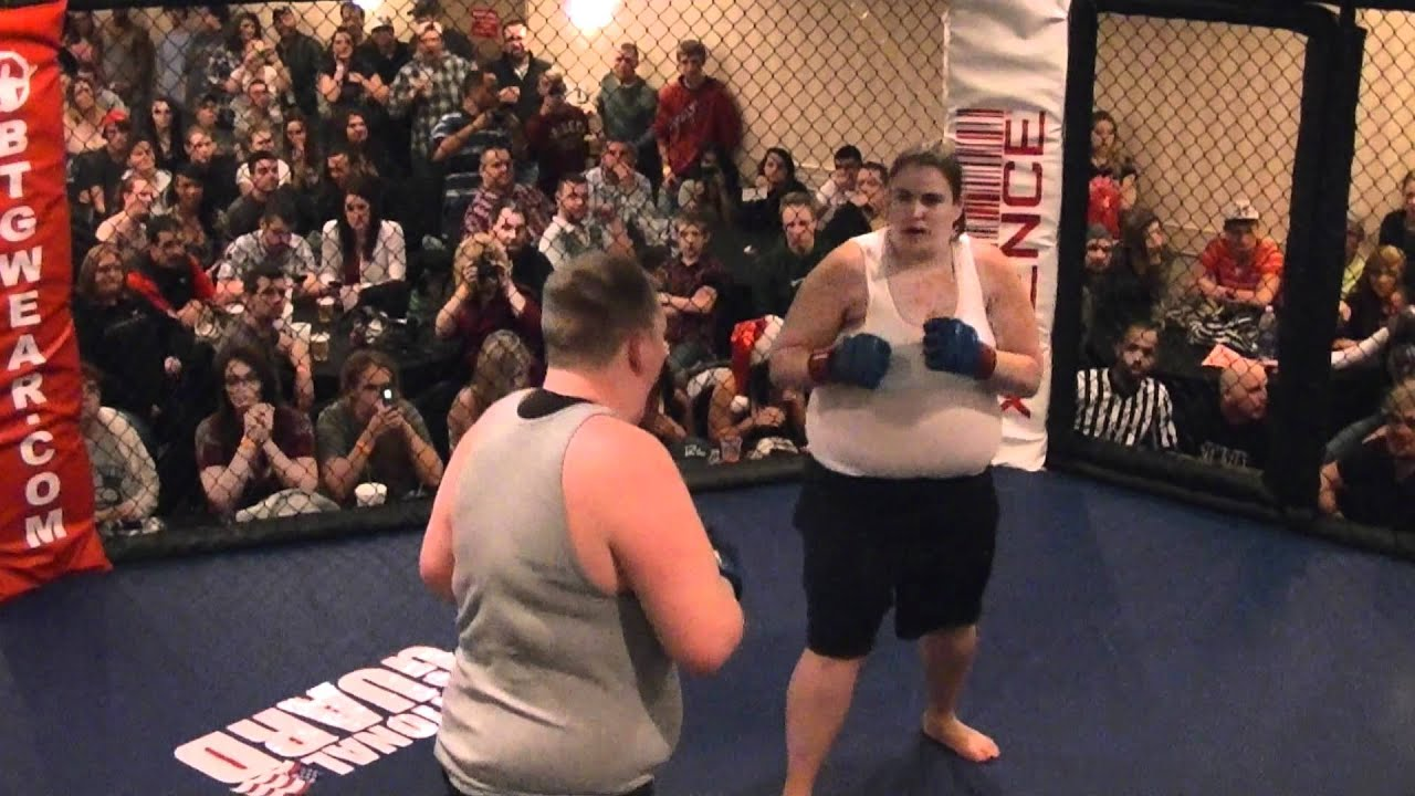 Fat Woman Fighting