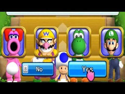 Mario Party 9 ☺ Step It Up #20 Funny Games for kids Kim Jenny 100 - 동영상