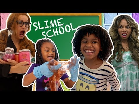 slime-school-teacher-vs-silly-students!---new-toy-school