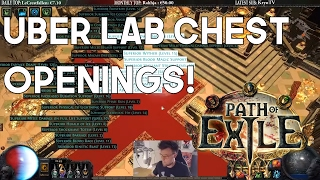 Early League Uber Loots From Uber Lab - Path of Exile