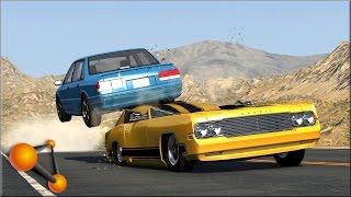 BeamNG Drive Random Vehicle #38 Crash Testing #151