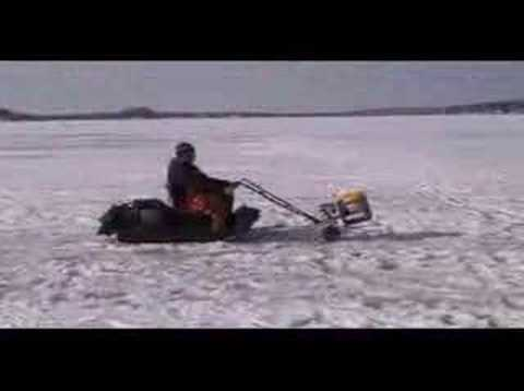 Redneck presents: Ice fishing