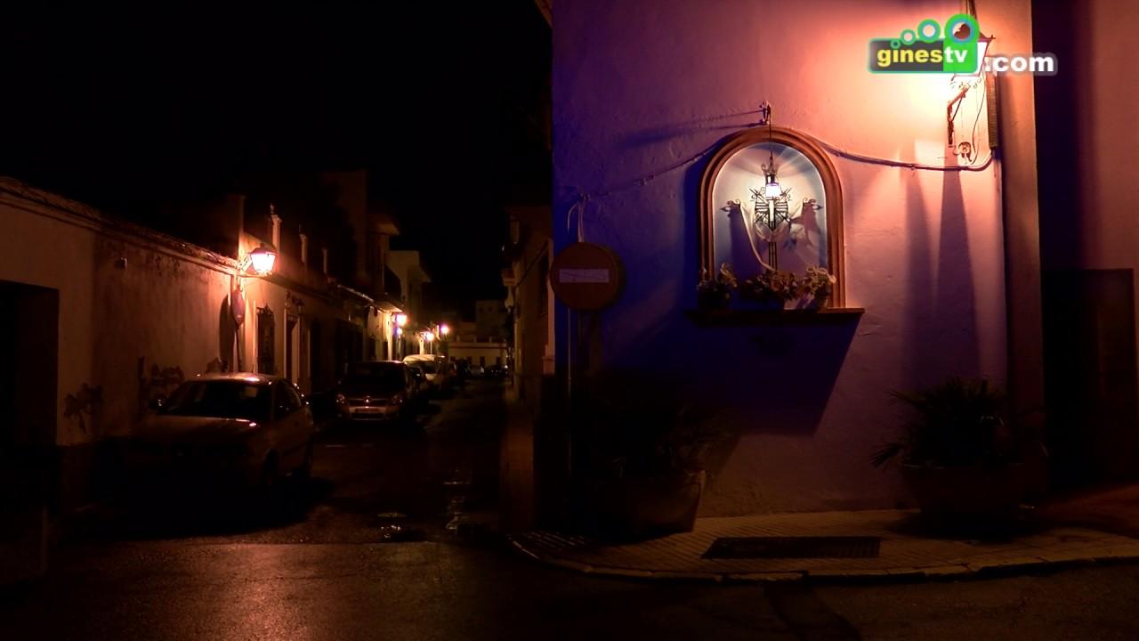 Gines se sumó a 'La Hora del Planeta' apagando las luces de distintos puntos de la localidad